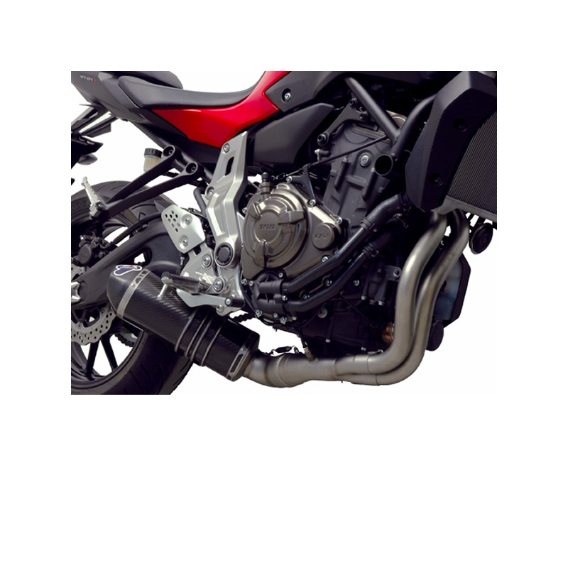 Exhaust system termignoni carbone yamaha mt 07 xsr 700