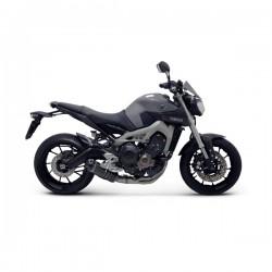 """Ligne Termignoni """"Black Edition"""" carbone Yamaha MT-09 (14-16), XSR 900 (15-16)"""