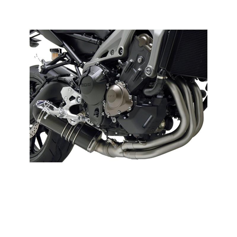 termignoni exhaust black edition yamaha mt 09 14 19 xsr 900 15 19. Black Bedroom Furniture Sets. Home Design Ideas