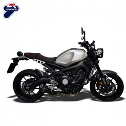 Ligne Termignoni sur Yamaha XSR 900 (15-16), illustration version carbone (Y102090CV)
