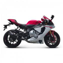 Slip on Termignoni homologated titanium carbon Yamaha YZF-R1 2015-2019