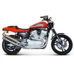 Ligne Termignoni carbone Harley Davidson XR 1200 R 2008-2011 (illustration finition titane, supprimée du catalogue)