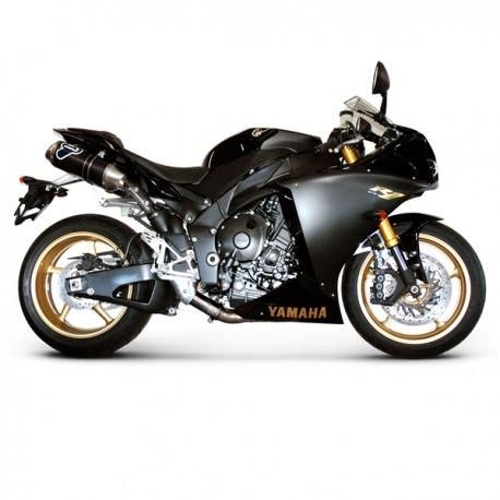 Silencieux Termignoni homologué carbone Yamaha YZF-R1 (09-14)