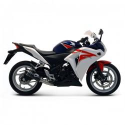 Silencieux Termignoni tout carbone Honda CBR 250 R 2011-2015
