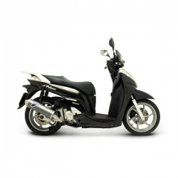 "Silencieux Termignoni homologué inox ""look carbone"" Honda SH 300i 2007-2015"